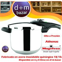 Olla A Presión Magefesa 8 Litros Made In España