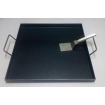 Plancha Bifera 50 X 50 X 4cm + Espatula De Regalo