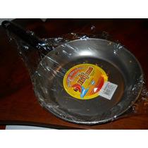 Sarten De Chapa Profesional Gastronomica Asa Tubular 24cm