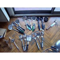 Cacerolas Ac Inoxidable Mic,essen,cucharones,plancha,nuevo