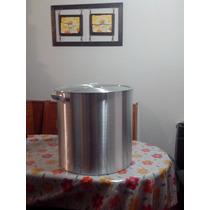 Olla Gastronomica De Aluminio Con Tapa N° 34 30 Litros