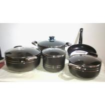 Set Bateria De Cocina Teflon Anteadherente