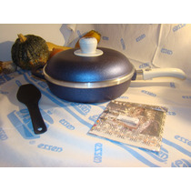 Sarten Essen Linea Disegno Azul 26 Cm Con Antiadherente