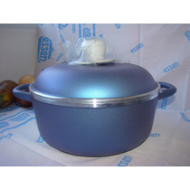 Set Essen Olla Disegno Azul 26 Cm Vaporera Posaolla Espatula