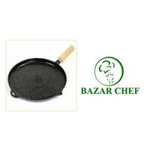 Plancha Lisa Enlozada #4 31 Cm - Bazar Chef