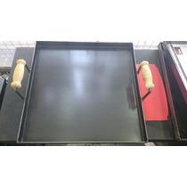 Chapa Bifera Plancha Para Cocinar 50cm X 50cm 4 Hornallas