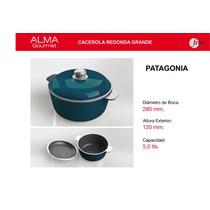 Cacerola Redonda 28cm / Paellera-pizzera 32cm Alma Gourmet
