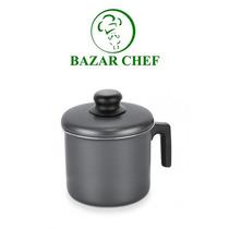 Tramontina - Paris Jarro 16 Cm Negro Con Tapa - Bazar Chef