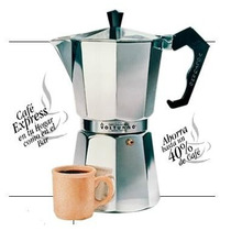 Cafetera Express Volturno 12 Pocillos. Modelo Classica
