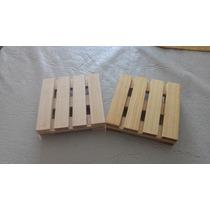 Posavasos Mini Pallet X4 Unidades