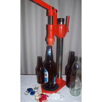 Máquina Tapadora Para Conservas, Cervezas Y Gaseosas.