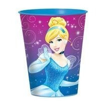 Vaso Cenicienta Disney Importado Usa