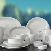 Mejor Precio Jarro Capuchino+plato Tsuji Blanca Porcelana Ss