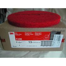 Disco 3m Rojo 13 Lavado