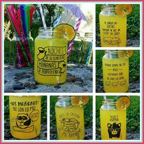 Frasco Vaso Tragos Frases Souvenir Personalizados Wow!