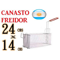 Canasto Freidora Gas Electrica Freidor Con Gancho Fritera