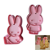 Cortantes C/ Expulsor Conejo Fondant Reposteria Rabbit Miffy
