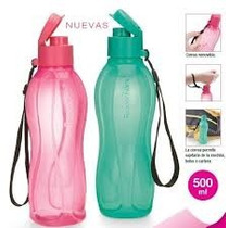 Botella Eco Twist Plus Con Pico 500 Ml. Tupperware