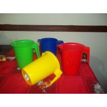 Jarras Plásticas Por 3 Unidades