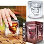 Vaso Calavera Cristal Doomed Grande 10 Cm Whisky Cristal