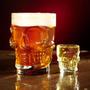 Chop De Cerveza Calavera Medio Litro