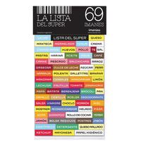 Lista Del Supermercado 69 Imanes Nec Tienda