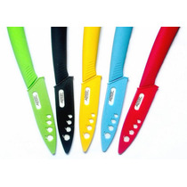 Cuchillos Ceramicos De Colores - Microcentro Con Vaina