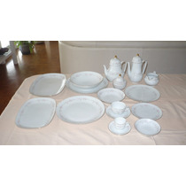 Juego De Platos De Porcelana Tsuji 116 Piezas