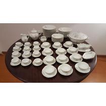 Juego De Porcelana Verbano 91 Piezas - Elfiruleteantiguedade