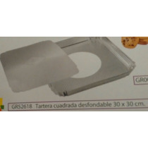 Tartera Cuadrada Desmontable ( 25 X 25 Cm)