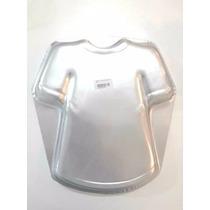 Molde Aluminio Torta Camiseta Futbol