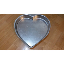 Molde Para Tortas De Aluminio - Forma De Corazón