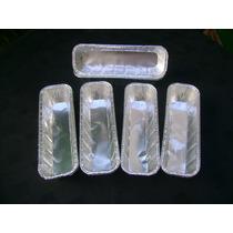 Budinera De Aluminio De 23x7x5, Pack Por 24 Unidades.