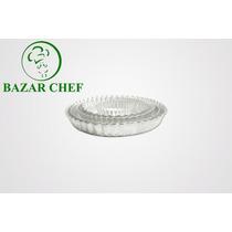 Tartera Desmontable Rizada 12 X 4 Cm - Bazar Chef