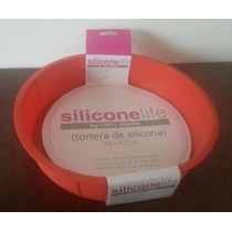 Tortera De Silicona 28cm De Diametro X 6,7cm De Alto
