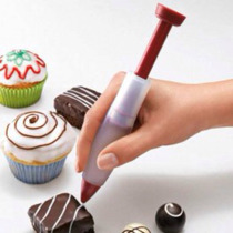Jeringa De Silicona Para Decorar Tortas Con Chocolate