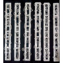 Cortantes Letras Y Números! Para Repostería Y Porcelana Fría
