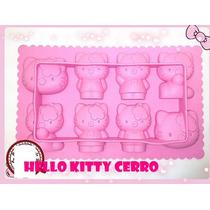 Moldes Silicona Hello Kitty Horno Y Freezer Importados