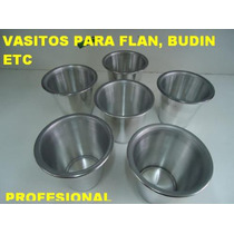 Set D 6 Moldes P/ Volcan D Chocolate Muffin Postre Cup Cakes