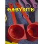 Tupperware Combo X 3 Cucharitas Dosificadora Roja - Gabydith