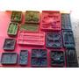 15 Moldes(frisadores) 440 Pesos P/flores De Goma Eva,tela,
