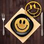 Molde Huevo Frito Smile Cara Sonriente Lechuza Calavera