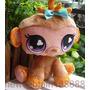 Imperdible Peluche De Littlest Pet Shop Monita 23 Cm