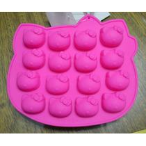 Moldes De Silicona P/ Bombones Hielo Hello Kitty