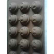 Moldes Silicona Caras, Smile Para Chocolate,jabon