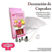 Sets Mangas Cuplas Picos Cupcakes Panaderia Eleccion Tortas