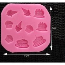 Molde Silicona Tortas, Helados, Cupcakes
