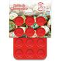Molde De Silicona Para Mini Cupcakes Muffins X12 Dos Lembas
