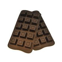 Molde Silicona Chocolate Bombones Cubos Cuadrados