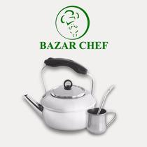 Pava De Acero Inoxidable 1.7 Litros - Bazar Chef